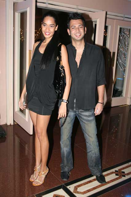 Lisa Haydon and Karan Bhoj