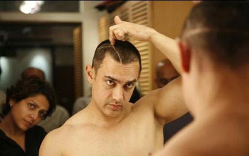 Aamir Khan haircut   Miss Malini