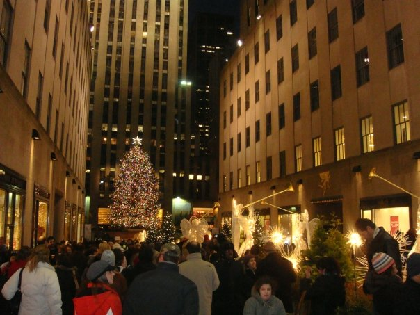 The Rockerfeller Centre tree