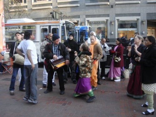 Hare Krishna's at Union Square