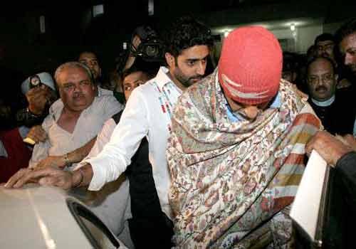 Abhishek & Amitabh Bachchan