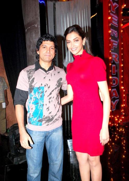 Farhan Akhtar & Deepika Padukone