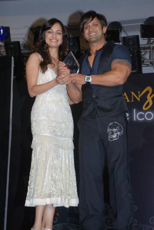 Dia Mirza and Yash Birla