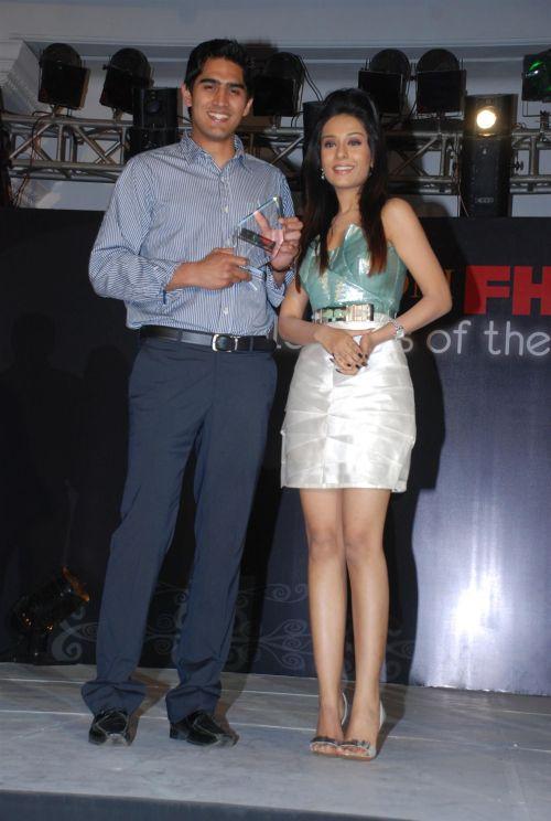 Vijendra Singh and Amrita Rao