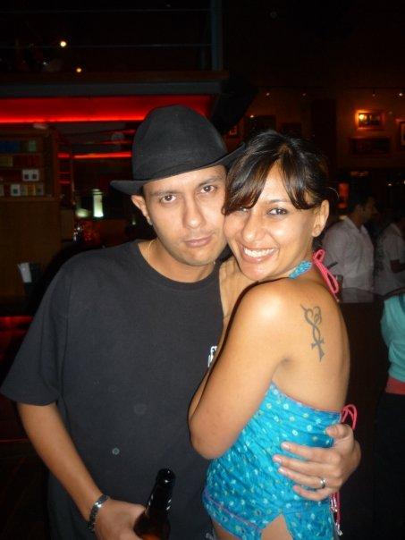 Deepak (my big bro) & Me and the tattoo!