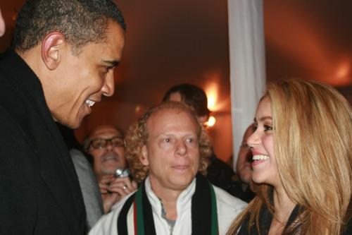 Obama & Shakira