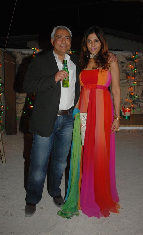 Pradeep Gidwani and Nisha Jhamvwal