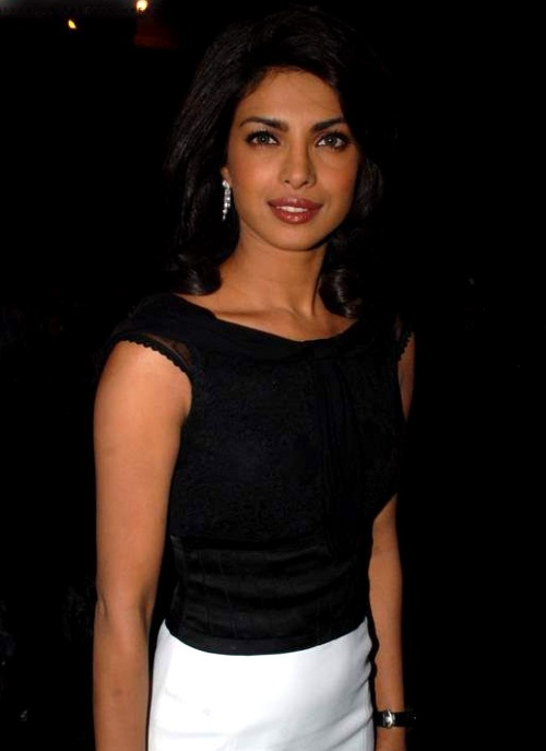 Priyanka Chopra at the Victory premiere
