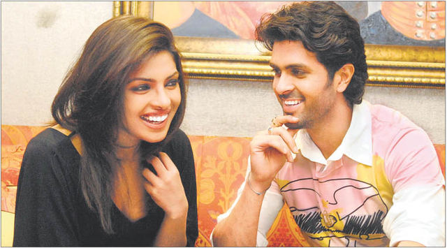 Priyanka Chopra and Harman Baweja