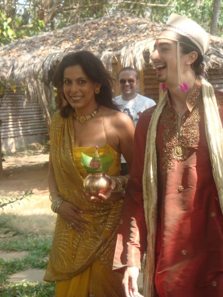 Pooja Bedi and Adam Bedi