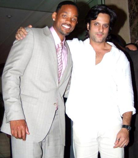 Will Smith and Fardeen Khan