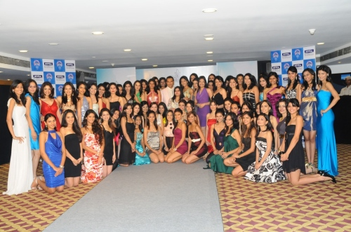 The 65 Miss India contestants