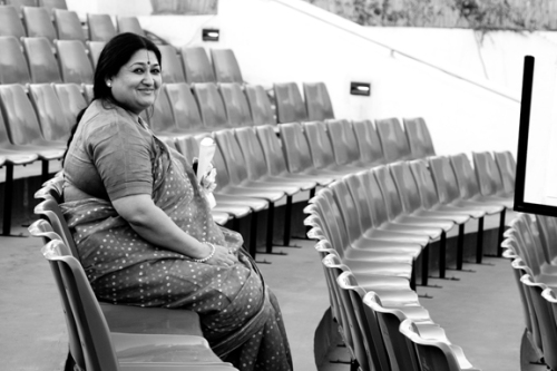Shubha Mudgal at the Baaja Gaaja music festival, Pune