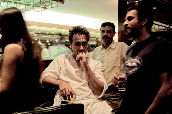 Ranvir Shorey at a pub in Mumbai