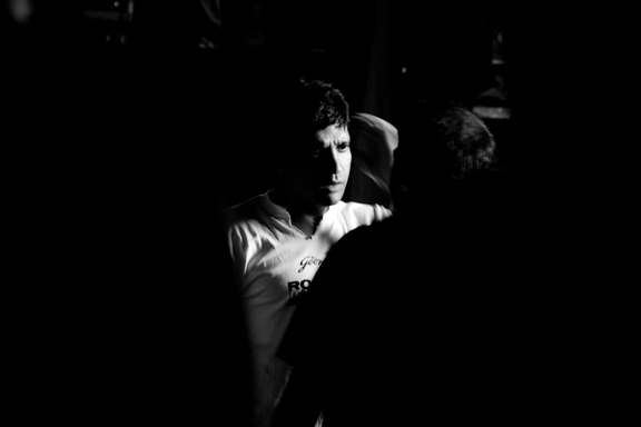 """Farhan Akhtar, behind the curtains for the """"Rock On for Humanity Concert,"""" Mumbai"""