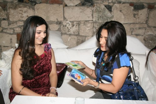Larra Shah and Aarti