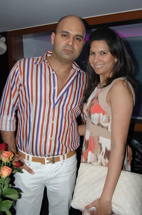 Laila Mallya and Samar Singh