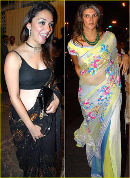 Nauheed Cyrusi and Nandita Mahtani