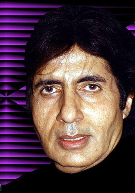 Amitabh Bachchan then...