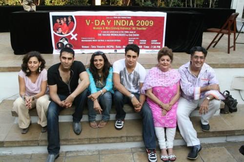 Avantika, Sandip, Sonali, Imran, Mahabanoo and Kaizad