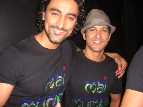 Kunal Roy Kapoor and Farhan Akhtar