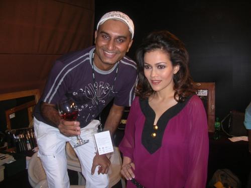 Vipul Bhagt and Waluscha Robinson