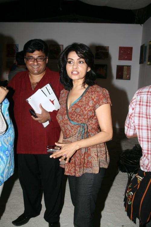 Fahad Samar and Sangita Kathiwada