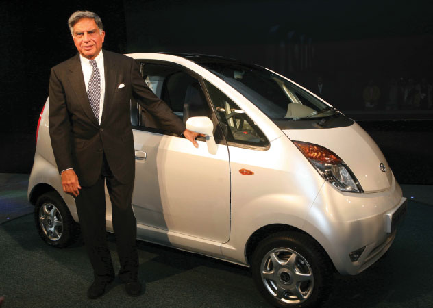 Ratan Tata and the Tata Nano