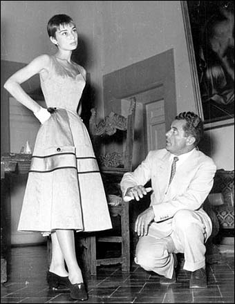 Audrey Hepburn and Ferragamo