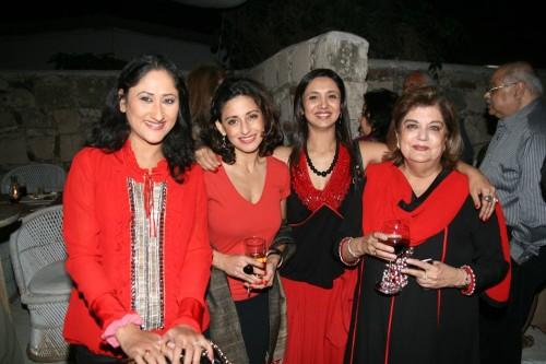 Jayati, Avantika, Sonali and Mahabanoo Kotwal