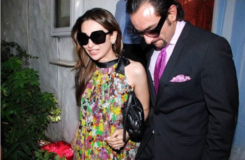 Karishma Kapoor and Saif Ali Khan