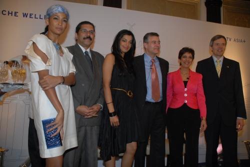 L to R Carol Gracious, Sudeep Malhotra, Mugda Godse, Tobia Grote, Amreeta Cheema & Consulate General