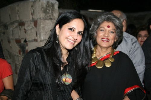 Loveleen Tandon and Dolly Thakore