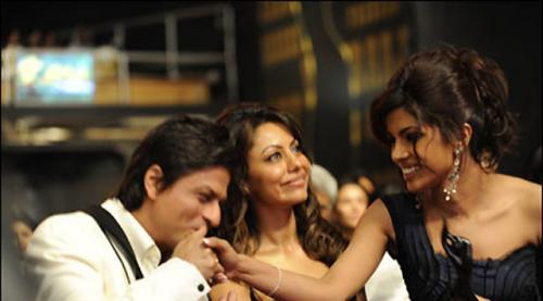 Shah Rukh & Gauri Khan and Priyanka Chopra