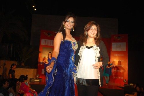 Neetu Chandra and Archana Kocher
