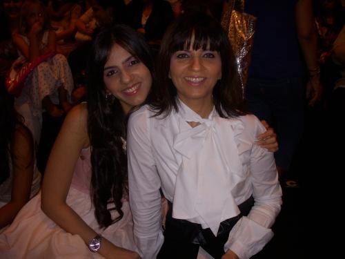 Nishka Lulla with mum Neeta Lulla