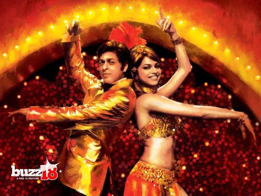Shah Rukh Khan & Deepika Padukone in Om Shanti Om