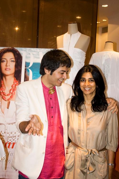 Parmesh Shahani and Tina Tahiliani Parikh
