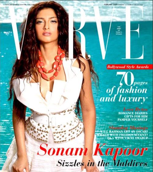 Sonam Kapoor in Verve