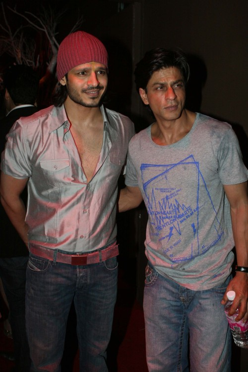 Vivek Oberio and Shah Rukh Khan