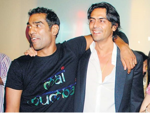 Ravi Krishnan and Arjun Rampal