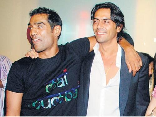 Ravi Krishnan and Arjun Rampal