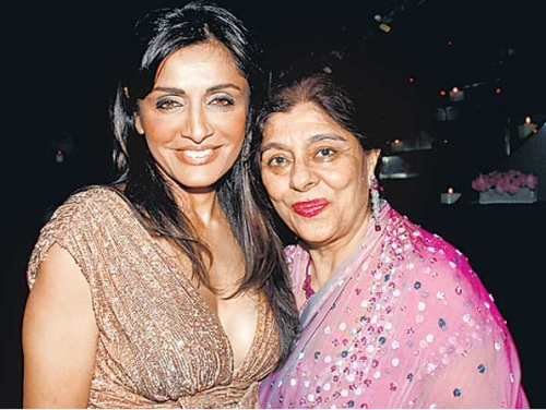 Queeni Dodhy and Mrs. Chatwal