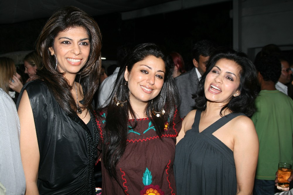 Zeba, Sabina and Sangita