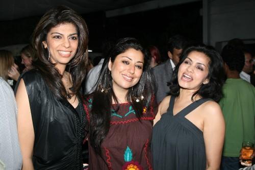 Zeba, Sabina and Sangita