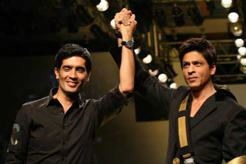 Manish Malhotra and Shah Rukh Khan