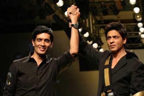 Manish Malhotra and Shah Rukh Khan