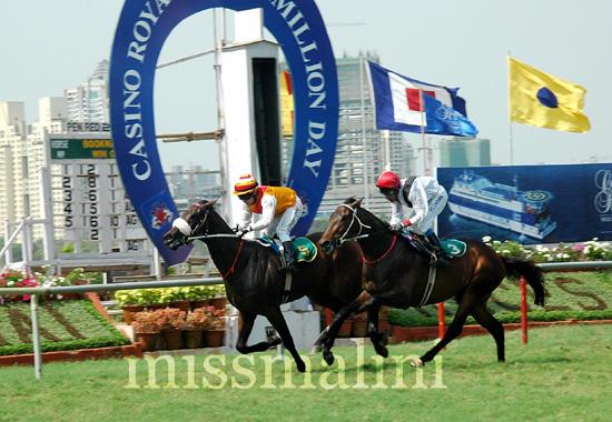 Aristocratic wins the Casino Royale Multi Million