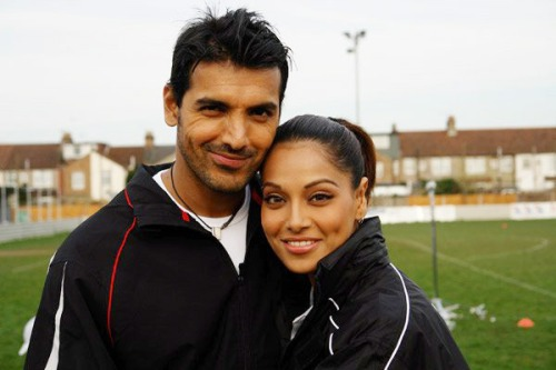 John Abraham and Bipasha Basu