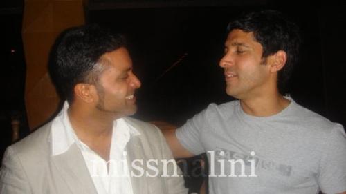 Ash Chandler and Farhan Akhtar